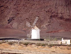 Windmühle in Tiagua - Lanzarote